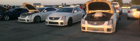 Cadillac CTS-V Sedan White Diamond 2