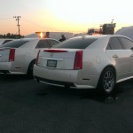 Cadillac CTS-V Sedan White Diamond 1