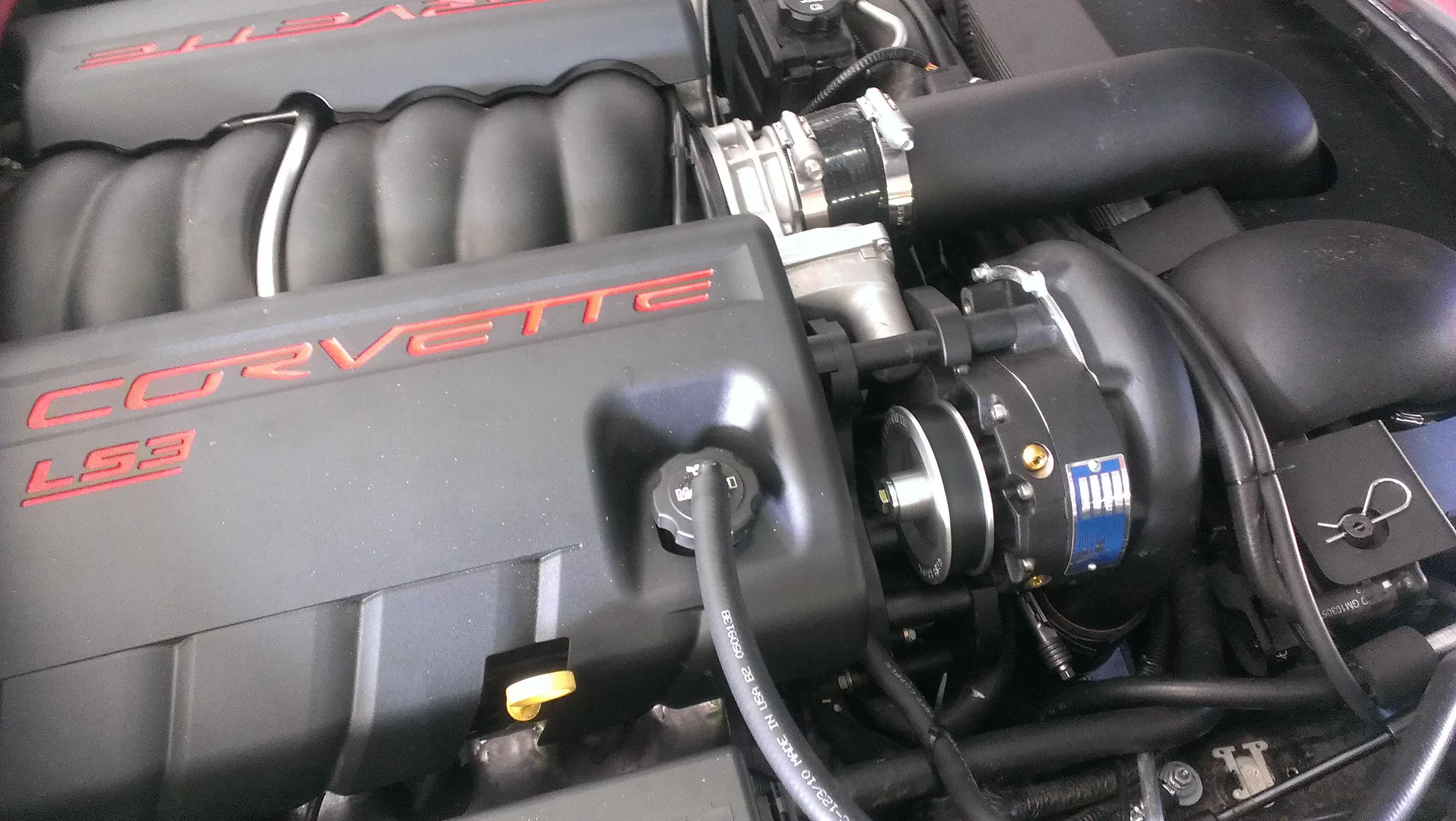 A&A Supercharger LS3 Corvette