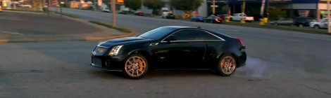 Stage 2 CTS-V Powerslide (Video)