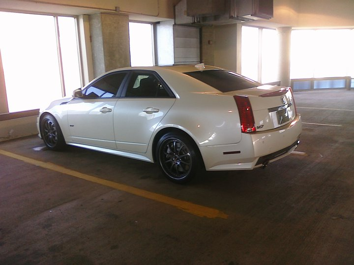 2009 760 hp Cadillac CTS-V, Josh Elam's first LSA engine build.